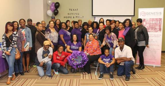 Texas GHH Drive Pic Of All Volunteers